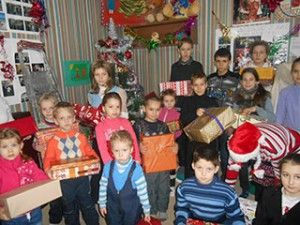 Новий рік для дітей фонду