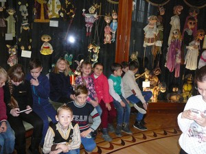 дети из села Германовка едут на экскурсию в Киев