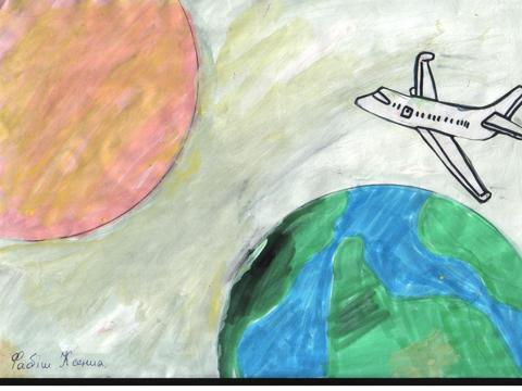 Центр-адаптації-дітей-малюнки-космос